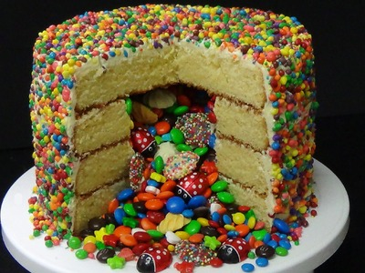 How to make pinata cake from scratch