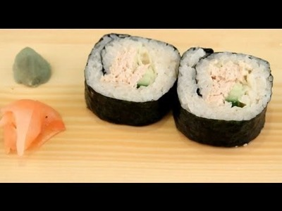 How To Make Sushi - Tuna Fish Rolls