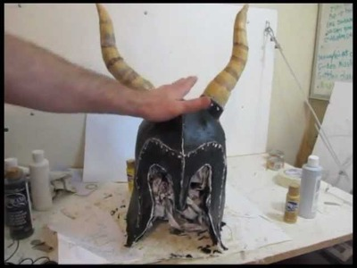 How to make the Skyrim Yngol Helmet