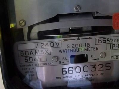 How to make your electric meter spin backwards.