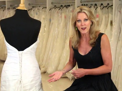How to Put a Corset Back in a Wedding Dress : Wedding Dresses & Bridal Attire