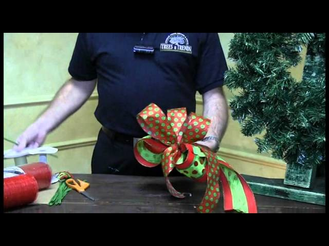 How To Tie A Bow - Trees n Trends - Unique Home Decor