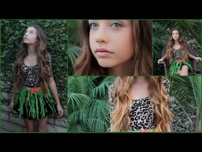 "Katy Perry ""ROAR"" Inspired Halloween Tutorial! (Hair, Makeup, and Costume)"