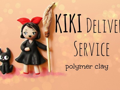 Kiki Delivery Service - Studio Ghibli Series - Polymer Clay Tutorial
