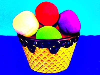 Kinder Surprise Play Doh Ice Cream Despicable Me Minions Cars 2 Spongebob Surprise Egg Easter