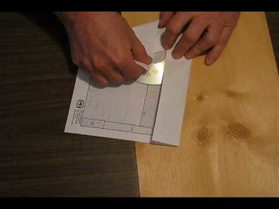 Make a CD or DVD Envelope Out of a Piece of Paper