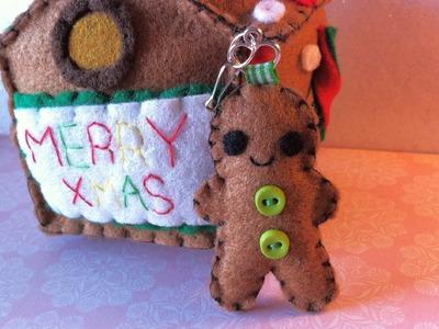 Making a Gingerbread Man Plushie