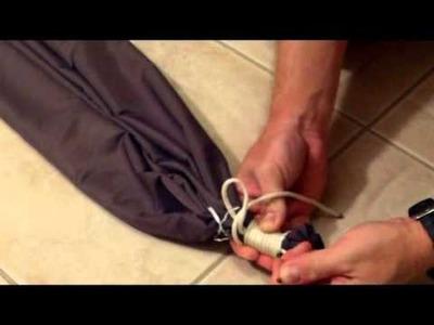 Making A Nylon Hammock