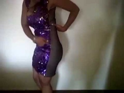 Mashonda sequin Dress Tutorial