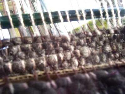 Nancy Today: backstrap weaving 2 from my hammock (weaving 22) ASMR weaving