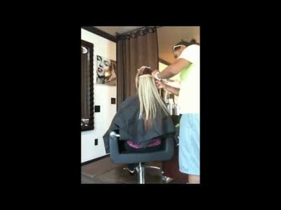 No-braid Sew in Hair Extension Technique at TREVI Hair Body Face