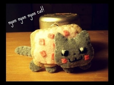 Nyan Cat Pop Tart Plushie Tutorial