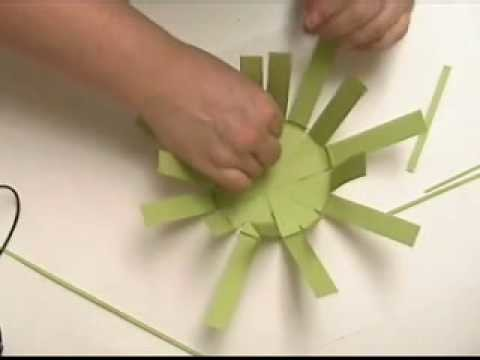 Paper Basket Weaving