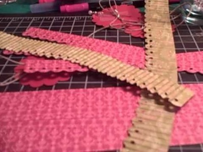 Paper Flowers using Border Punch