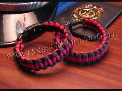 Robs 550 Paracord Survival Bracelets, Lanyards, Keychains, and MORE!