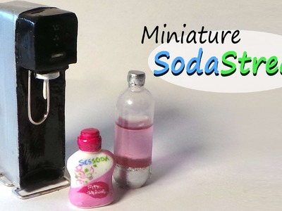 Sodastream Inspired Miniature - Polymer Clay Tutorial