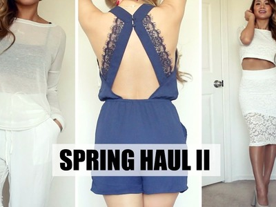 Spring Haul Lookbook: Forever 21, H&M, Dynamite | HAUSOFCOLOR