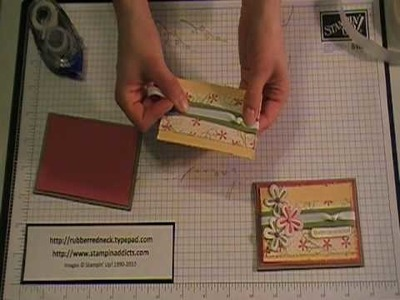 Stampin' Up! Tutorial~Gift, Money Card Holder.MOD
