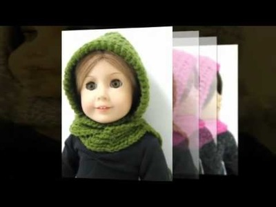 Suzymstudio Doll Clothes Hooded Scarf AG