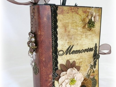 Vintage Paper Bag Mini Album Tutorial