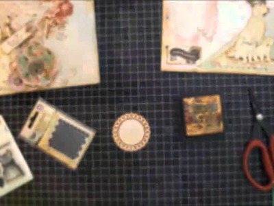 Vintage-Shabby Chic Mini Album Tutorial ~ Make Memories