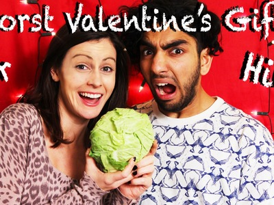 Worst Valentine's Gifts (for Him)