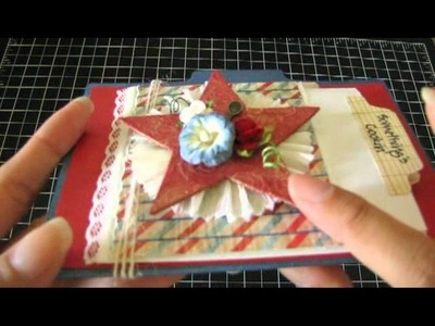 YPP July Recipe Card & Crepe Rosette Tutorial