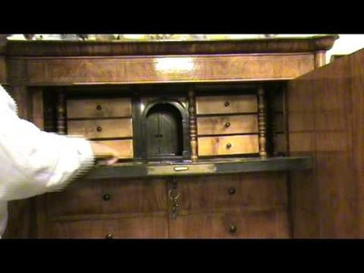 A furniture with hidden secret drawers