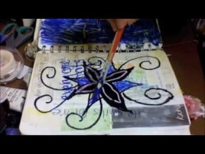 Art Journal Fun, August -