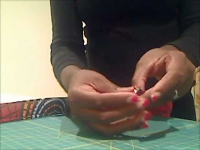 Bag Making Tutorial: Skills:L5: How to make a basic bag handle