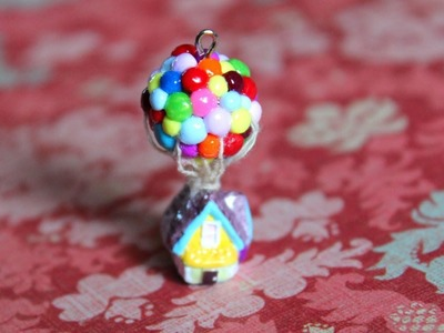 Bows, Balloons, and a Cello {Polymer Clay Charm Update}