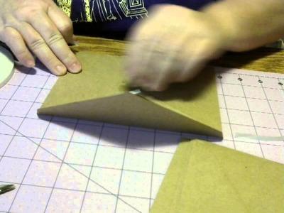 Card.Envelope mini album tutorial  PART 1