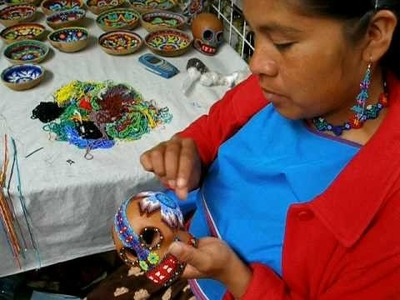 Carina from the Huichol Ethnic Group