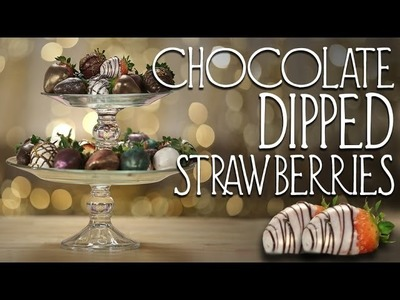 Chocolate Covered Strawberries | Dessert Ideas | Just Add Sugar