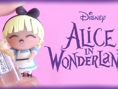 Disney Alice in Wonderland Chibi Polymer Clay Tutorial