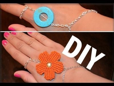 ✿ DIY FINGER BRACELET ✿ AprilAthena7