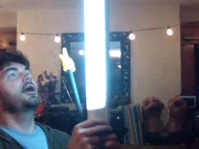 DIY LIGHT STAND! - Low Budget Video Lighting - QUICK FX