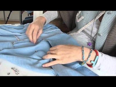 DIY tachuelas de color