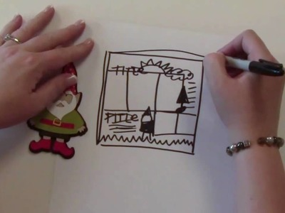 """Gnome Layout"" by Jana Eubank for the Cricut Circle Blog"