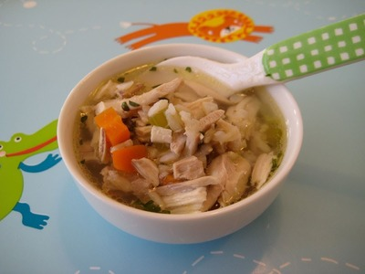 Healthy Dinner Recipes: How to Make Homemade Chicken Soup and Rice - Weelicious
