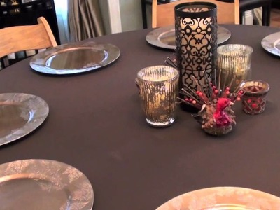 Holiday Prep: Thanksgiving Setup