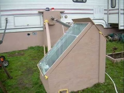 How to build a solar water heater 2