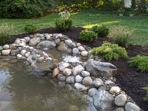 How To Build a Water Garden Koi Pond from a Swimming Pool Flemington, NJ