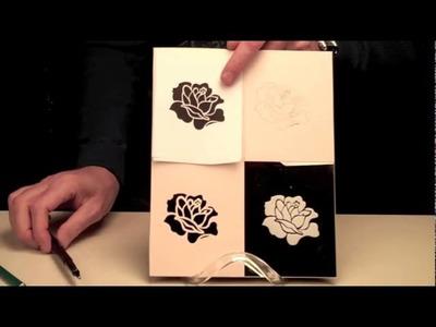 How To Make a Custom Glass Etching Stencil by Etchworld.com