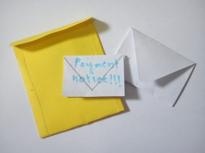 How To Make a Doll Envelope