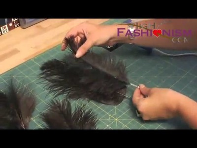 How to Make a Feather Head Piece, Th