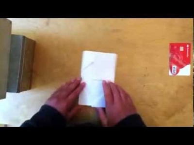 How to make a paper wallet with 7 pockets [HD]
