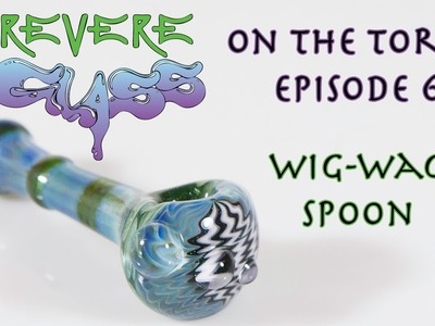 How to make a Wig Wag Pipe || REVERE GLASS ||