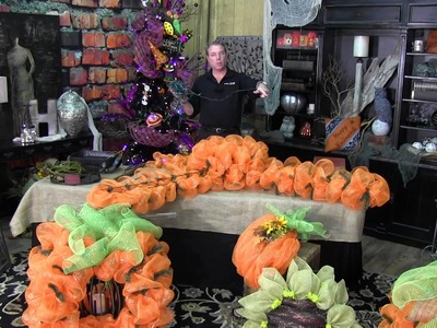 How To Make A Yard Pumpkin - Trees n Trends - Unique Home Decor
