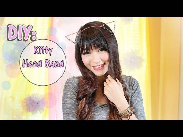 How To Make: Cat Ear Head Band-Taylor Swift.SNSD Inspired